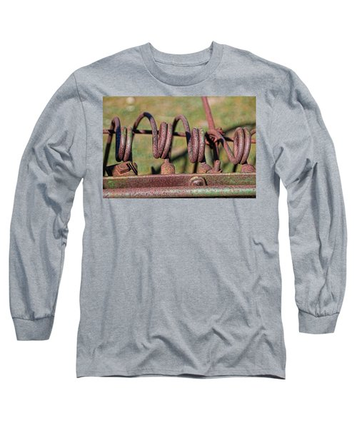 Long Sleeve T-Shirt featuring the photograph Farm Equipment 7 by Ely Arsha