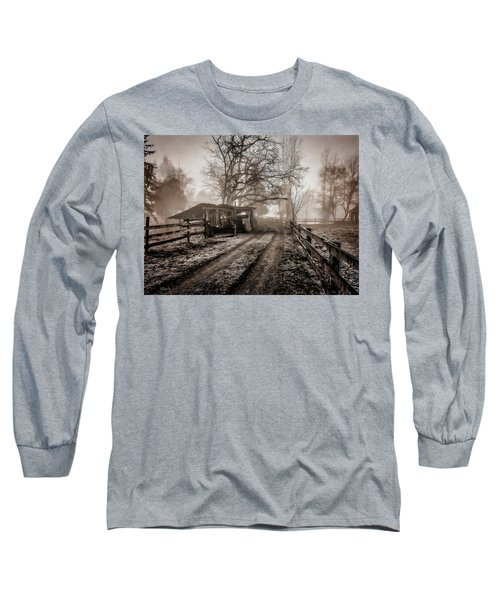 Farm Road Late Autumnl. Long Sleeve T-Shirt