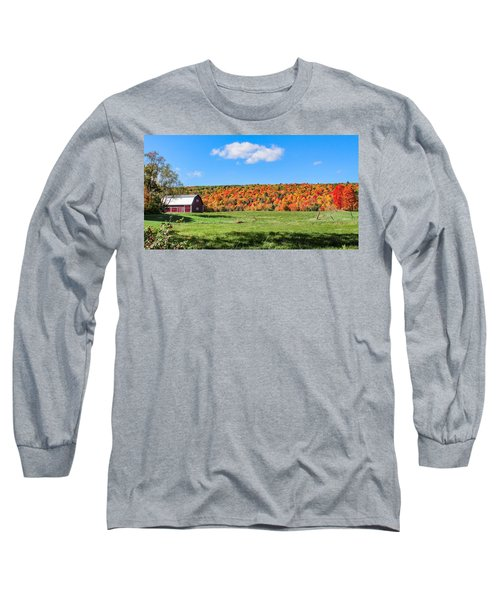 Farm View From Russellville Road Long Sleeve T-Shirt