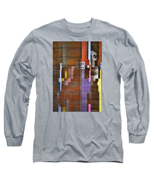 Fearful Reflections San Francisco Long Sleeve T-Shirt by Steve Siri