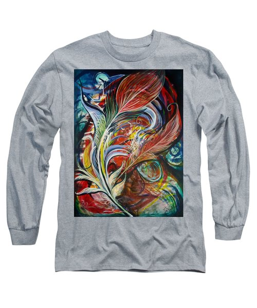 Feather Fury Long Sleeve T-Shirt