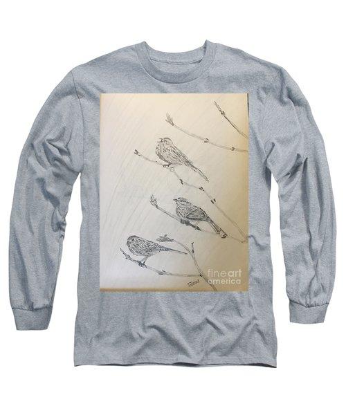 Feathers Friends Long Sleeve T-Shirt