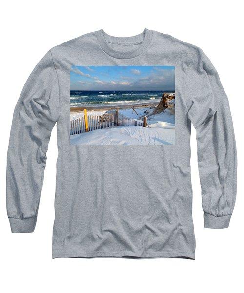 February Delight Long Sleeve T-Shirt by Dianne Cowen