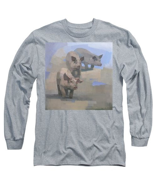 Feed Time Long Sleeve T-Shirt