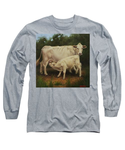 Feeding In The Forest Long Sleeve T-Shirt