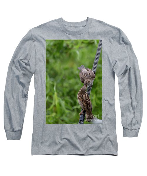Long Sleeve T-Shirt featuring the photograph Feeding Time by Brian Roscorla