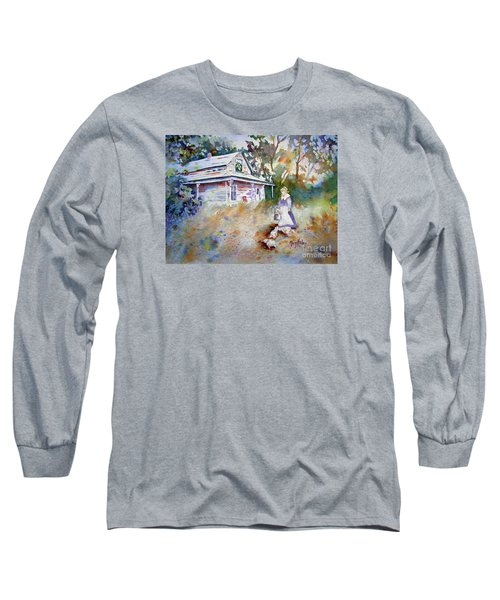 Feeding Time Long Sleeve T-Shirt by Mary Haley-Rocks