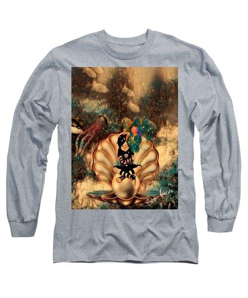 Feeling It All Long Sleeve T-Shirt by Vennie Kocsis
