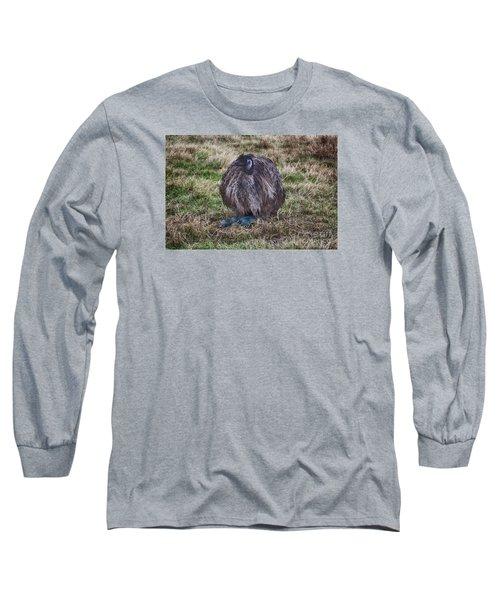 Feeling Kinda Broody  Long Sleeve T-Shirt by Douglas Barnard