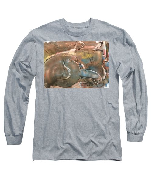 Feline Zen Long Sleeve T-Shirt