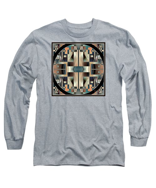 Female Abstraction Image Five Long Sleeve T-Shirt by Jack Dillhunt