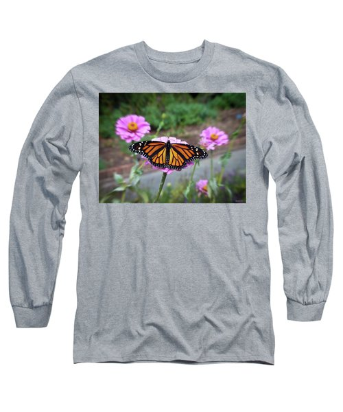 Female Monarch  Long Sleeve T-Shirt