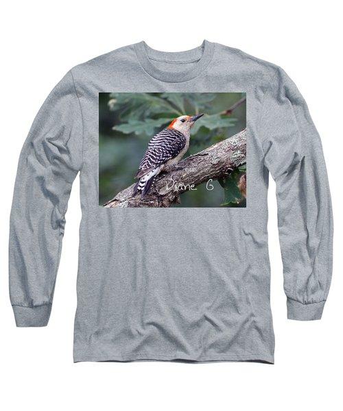 Female Red-bellied Woodpecker Long Sleeve T-Shirt