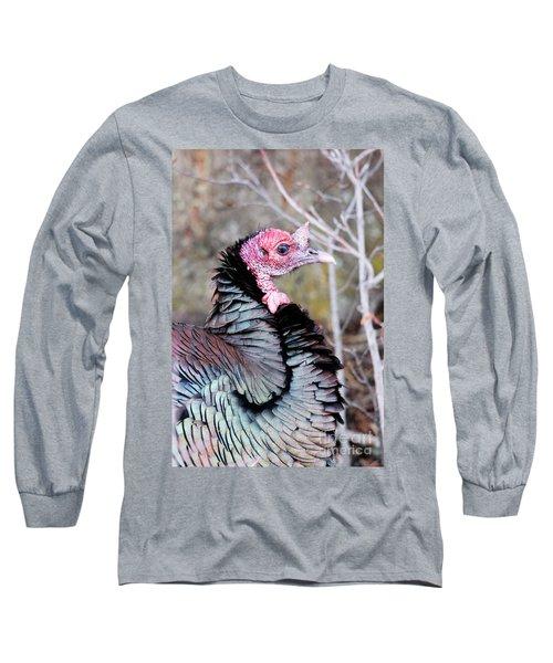 Female Wild Turkey Long Sleeve T-Shirt