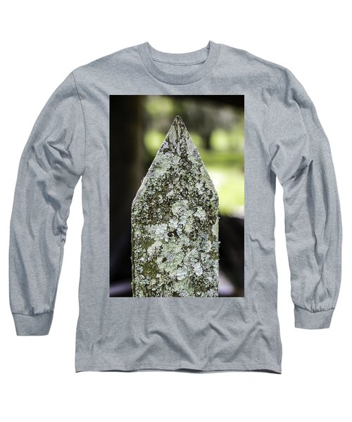 Fence With Moss Long Sleeve T-Shirt