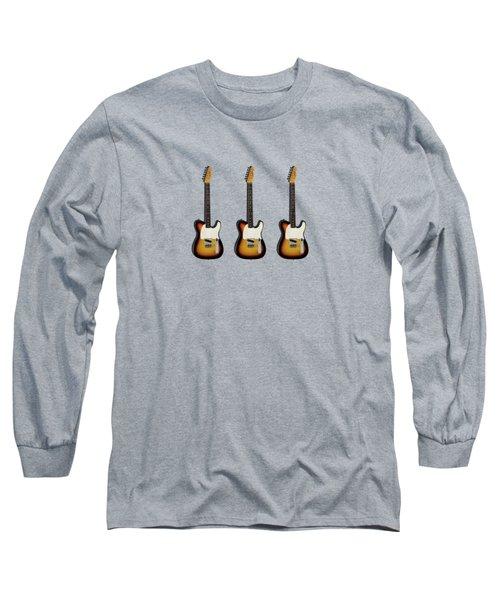 Fender Esquire 59 Long Sleeve T-Shirt by Mark Rogan