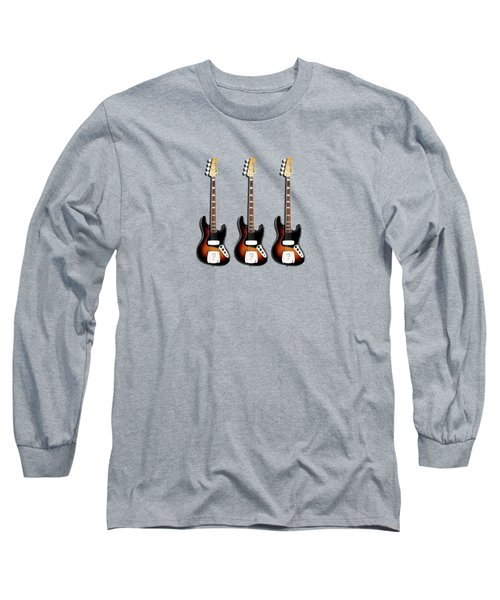 Fender Jazzbass 74 Long Sleeve T-Shirt by Mark Rogan