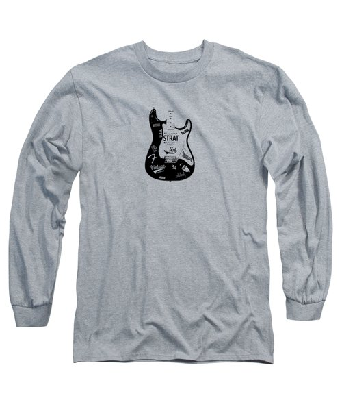 Fender Stratocaster 54 Long Sleeve T-Shirt by Mark Rogan