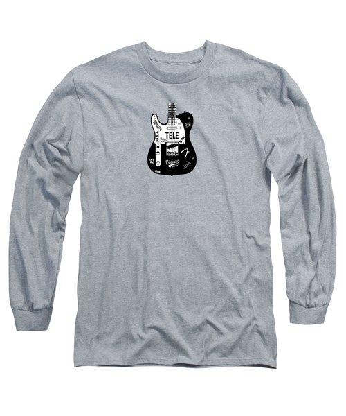 Fender Telecaster 52 Long Sleeve T-Shirt by Mark Rogan