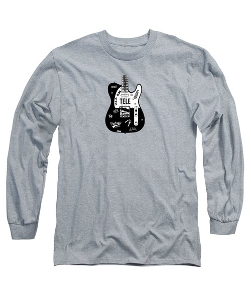 Fender Telecaster 64 Long Sleeve T-Shirt by Mark Rogan