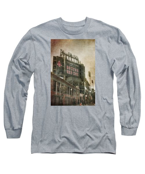 Fenway Park Billboard - Boston Red Sox Long Sleeve T-Shirt