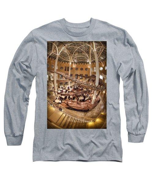 Fernbank Museum Long Sleeve T-Shirt by Anna Rumiantseva