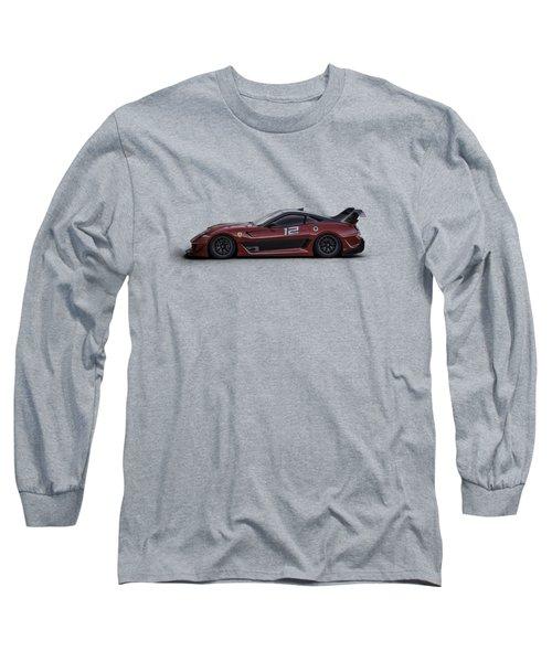Ferrari 599 Xx Long Sleeve T-Shirt by Douglas Pittman