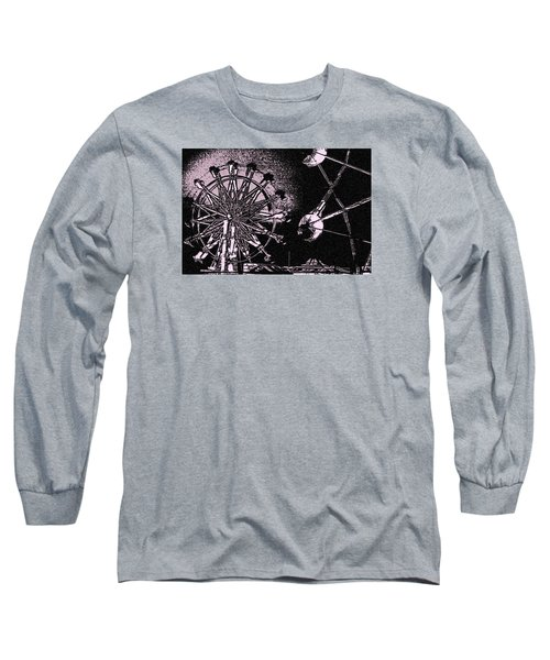 Long Sleeve T-Shirt featuring the photograph Ferris Wheel by Donna G Smith