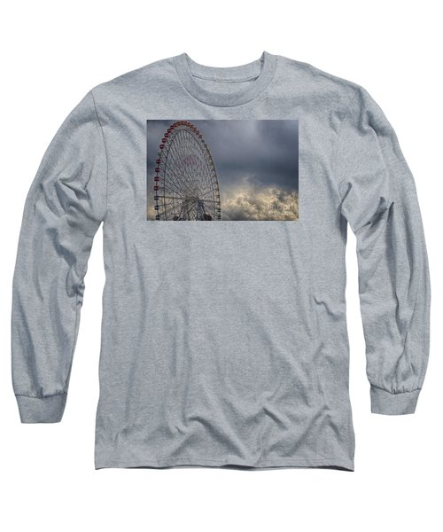 Long Sleeve T-Shirt featuring the photograph Ferris Wheel by Tad Kanazaki