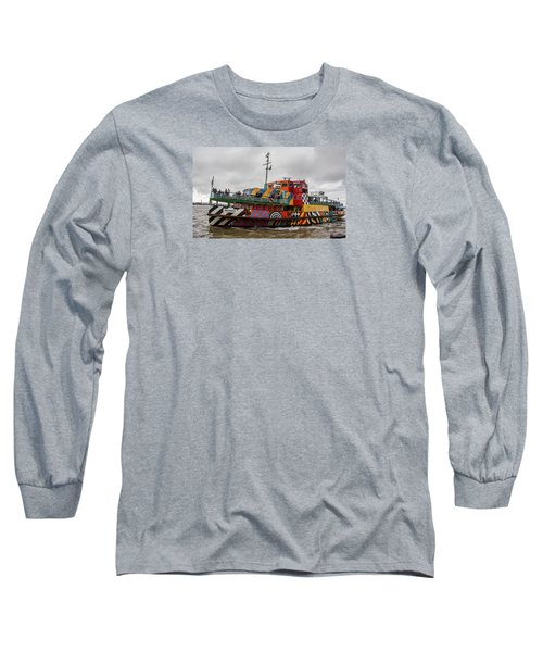 Ferry Cross The Mersey - Razzle Boat Snowdrop Long Sleeve T-Shirt