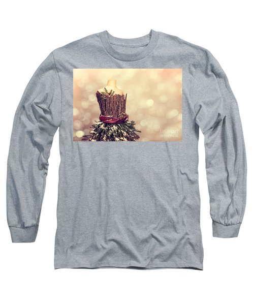 Festive Christmas Mannequin Long Sleeve T-Shirt