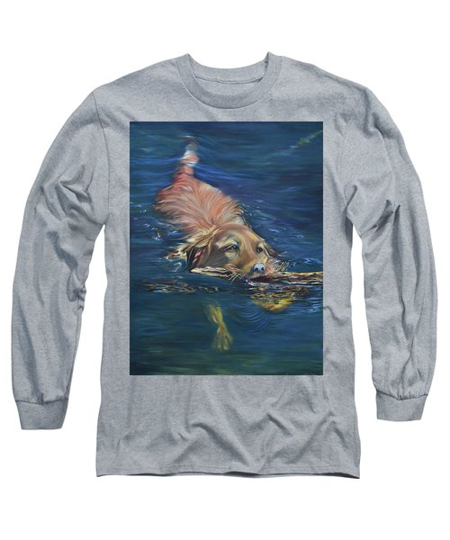 Fetching The Stick Long Sleeve T-Shirt