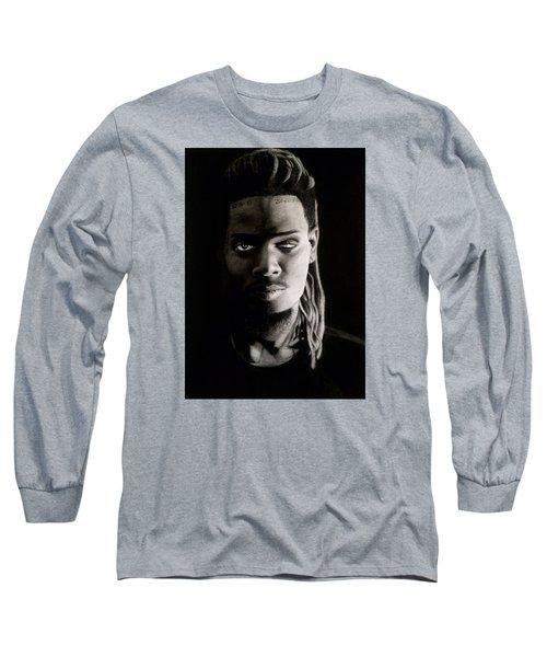 Fetty Wap Drawing Long Sleeve T-Shirt