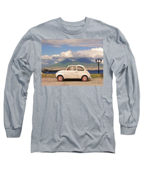 Fiat 500 Pizza Long Sleeve T-Shirt