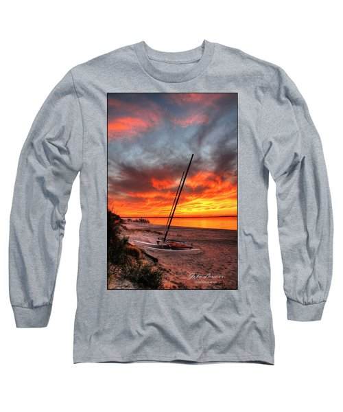 Fiery Sunset Long Sleeve T-Shirt