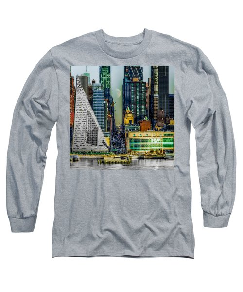 Long Sleeve T-Shirt featuring the photograph Fifty-seventh Street Fantasy by Chris Lord