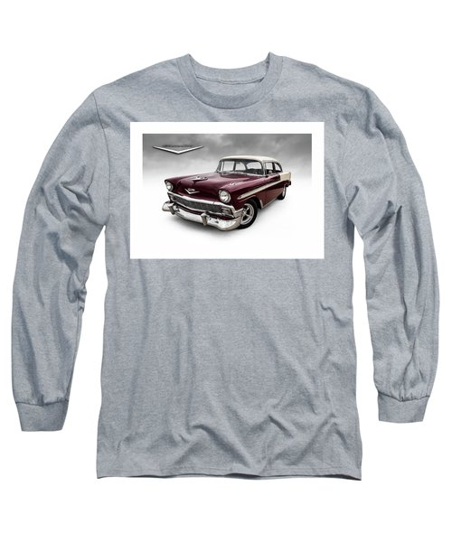 Fifty-six Chevy Long Sleeve T-Shirt