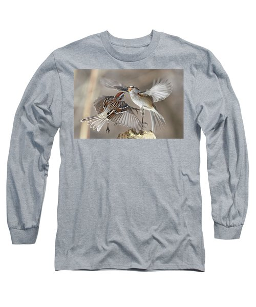 Fight Club Long Sleeve T-Shirt by Mircea Costina Photography