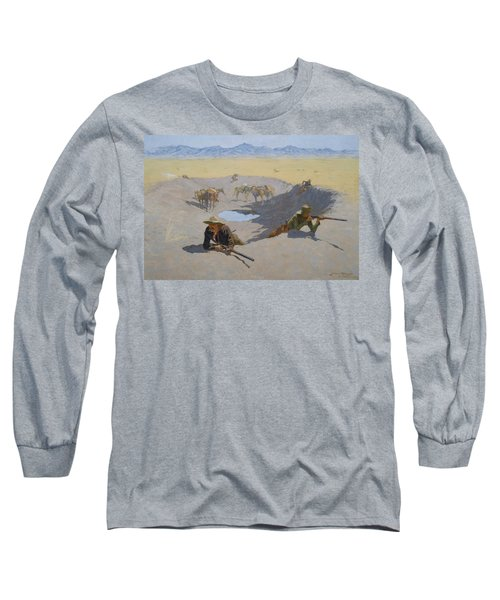 Fight For The Waterhole Long Sleeve T-Shirt