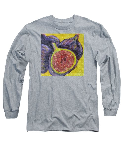 Figs  Long Sleeve T-Shirt by Laurie Morgan