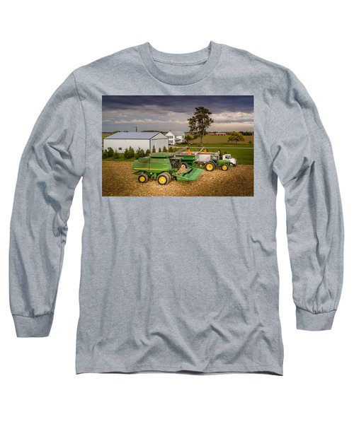 Filling Up And Emptying Out Long Sleeve T-Shirt