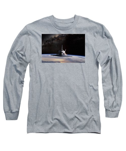 Final Frontier Long Sleeve T-Shirt by Peter Chilelli
