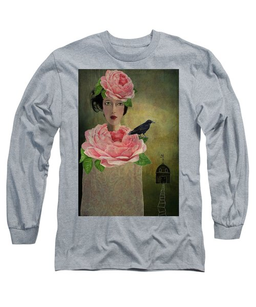 Finding Her Way Long Sleeve T-Shirt by Lisa Noneman