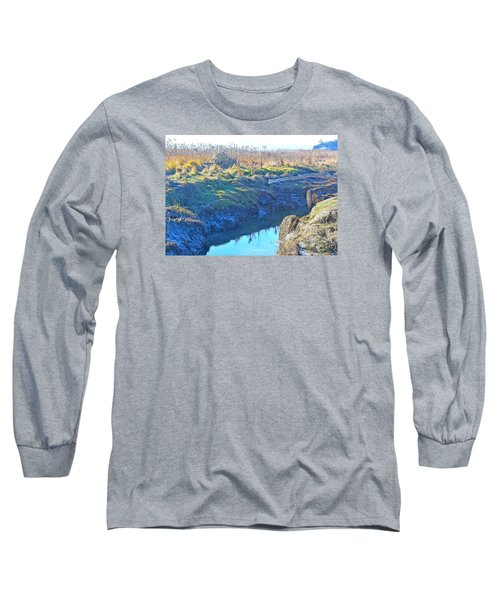 Fir Island November Long Sleeve T-Shirt