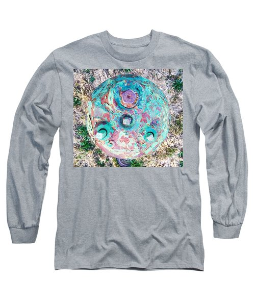 Fire Hydrant #5 Long Sleeve T-Shirt by Suzanne Lorenz