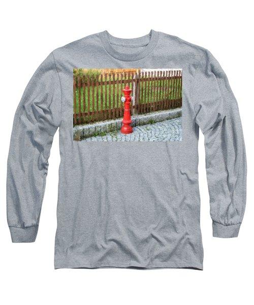 Fire Hydrant Long Sleeve T-Shirt