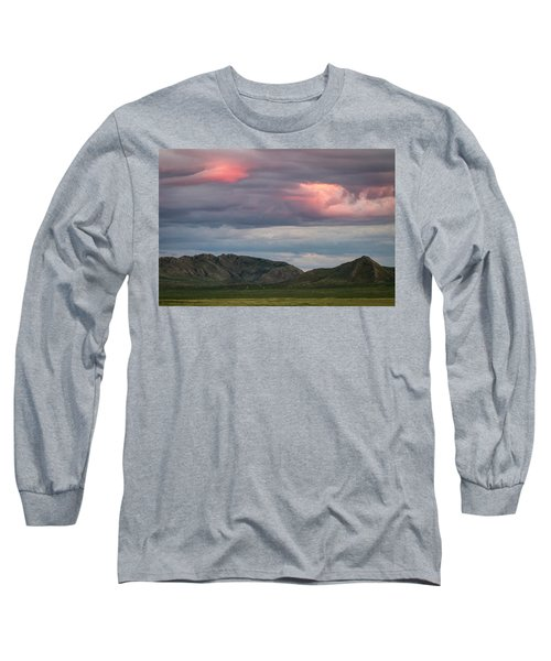Glow In Clouds Long Sleeve T-Shirt