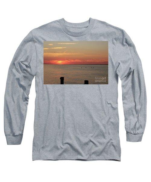 Fire Island Sunset Long Sleeve T-Shirt