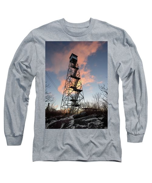 Fire Tower Sky Long Sleeve T-Shirt