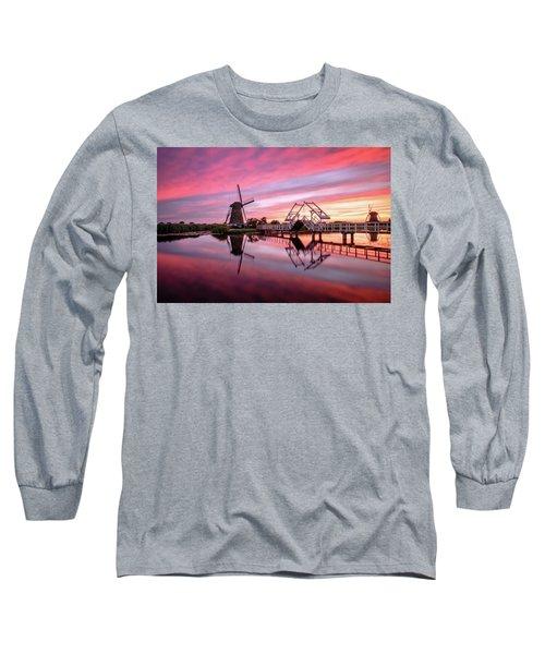 Fired Sky Kinderdijk Long Sleeve T-Shirt